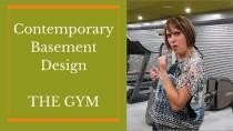 Home Gym Ideas –  Basement Gym Interior Design