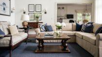 Interior Design — Luxury Coastal Lake House Cottage