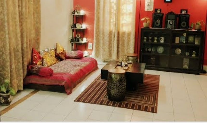 Indian Style Low Sitting Living Room
